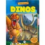 Box com Janela Dinos: com 6 Livros Cartonados