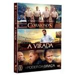 Box: Corajosos + a Virada + o Poder da Graça - Dvd Drama