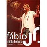 Box Fábio Jr. - Minha História (3 CDs + 1 Dvd)