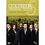 Box Lei e Ordem: Crimes Premeditados - 5ª Temporada - 5 DVDs