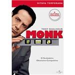 Box: Monk - 8ª Temporada - 4 DVDs