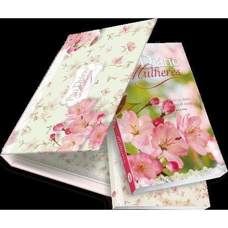 Box Pão Diário Mulheres - Flores da Terra, Diário + Devocional (2019)
