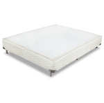 Box Sommier Plus Bege Pc13 Casal (128X188X24)