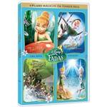 Box Tinker Bell: Quadrilogia (4 DVDs)
