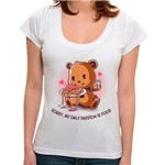 BR - Camiseta My Only Passion Is Food - Feminina - P