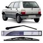 Braço do Limpador Vidro Traseiro com Palheta - Fiat Uno 1995 a 2013