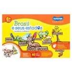 Brasil e Seus Estados Quebra-cabeças Multicor