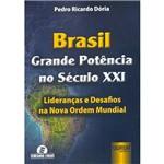 Brasil, Grande Potência no Século XXI: Lideranças e Desafios na Nova Ordem Mundial