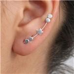 Brinco Ear Cuff Prata 925 Estrela