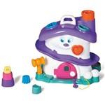 Brinquedo Activity House Girl com Blocos Didáticos Roxo 724 - Calesita