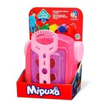Brinquedo Babyland Mipuxa Menina Rosa
