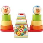 Brinquedo Bebê Meu Primeiro Balanço Empilhável Blocos Fisher Price Vermelho Único