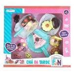 Brinquedo Comidinha Chá da Tarde Creative Fun Completo