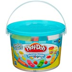 Brinquedo Conjunto Play-Doh Mini Balde Comidinhas - Hasbro