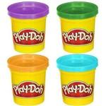 Brinquedo de Massinha Play Doh - 4 Potes Aventura - Hasbro 28502