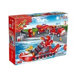 Brinquedo de Montar Banbao Bombeiros Lancha e Carro Bombeiro 392 Pecas Ref.: 8312