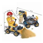 Brinquedo de Montar Máquina de Obras 75 Peças 8046 - Banbao