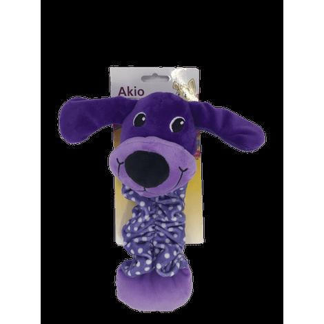 Brinquedo de Pelúcia Cão com Elástico - Akio Brinquedo de Pelúcia Cão com Elástico - Akio