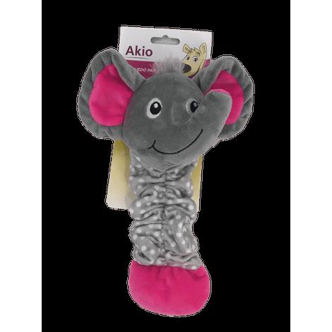 Brinquedo de Pelúcia - Elefante com Elástico - Akio