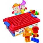 Brinquedo Didático Blocos de Montar Caixa da Alegria Dismat