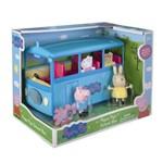 Brinquedo DTC Peppa Pig Onibus Escolar 4606