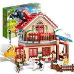 Brinquedo Eco Fazenda Casa 315 Peças 8581 - Banbao