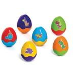 Brinquedo Educativo Dinohoo C/06 Ovos Didaticos Calesita Unidade