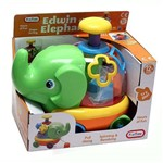 Brinquedo Infantil Elefante Educativo - Fun Time - Multikids