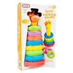 Brinquedo Infantil Girafa Torre de Anéis Fun Time Multilaser