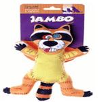 Brinquedo Jambo Lona Guaxinim Laranja