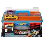 Brinquedo Maleta Pista Lançadora de Carros Hot Wheels - Acompanha 02 Carrinhos - Mattel
