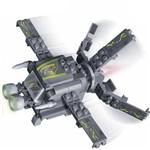 Brinquedo Missão Águia Nave Invasora 112 Peças 6216 - Banbao
