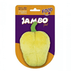 Brinquedo Mordedor de Pelúcia Pimentão Amarelo Jambo