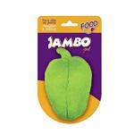 Brinquedo Mordedor de Pelúcia Pimentão Verde Jambo