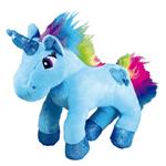 Brinquedo Mordedor de Pelúcia Unicórnio Azul Jambo