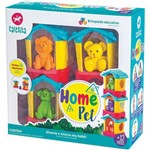 Brinquedo para Bebe Casinha Home Pet Calesita Unidade