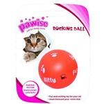 Brinquedo Pawise Bola Maluca para Gatos - Laranja