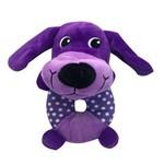 Brinquedo Pelúcia Cão Corpo Redondo - Akio