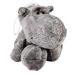Brinquedo Pet Injet Pelúcia Hipopótamo para Cães Único