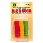 Brinquedo Petpira Talos de Madeira