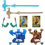 Brinquedo Pião Beywarrior Orochi Leviathan e Bandit Golem - Hasbro