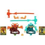 Brinquedo Pião Beywarrior Salamander e Leviathan - Hasbro