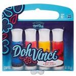 Brinquedo Play Doh Vinci Refil Cores Vibrantes Hasbro A8322 9597 Sort