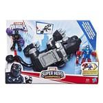 Brinquedo Playskool Heroes Black Panther Super Garras E0290