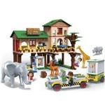 Brinquedo Safari Sede 829 Peças 6651 - Banbao