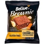 Brownie Caramelo/castanha do para 10un 40g Belive