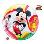 Bubble 22 Pol - Mickey e Seus Amigos da Disney - Qualatex