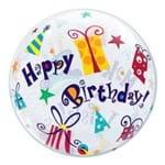Bubble 22 Polegadas - Aniversário, Faça um Pedido! Presentes - Qualatex