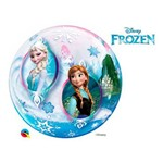Bubble 22 Polegadas - Frozen - Disney - Qualatex