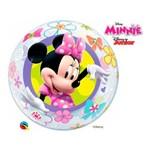 Bubble 22 Polegadas - Loja de Laços da Minnie Mouse Disney - Qualatex